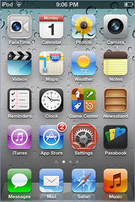 iPhone / iPad email signature installation - image 6