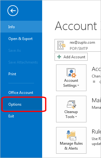 Business Emal Signatures - Outlook 2013 Install - 5