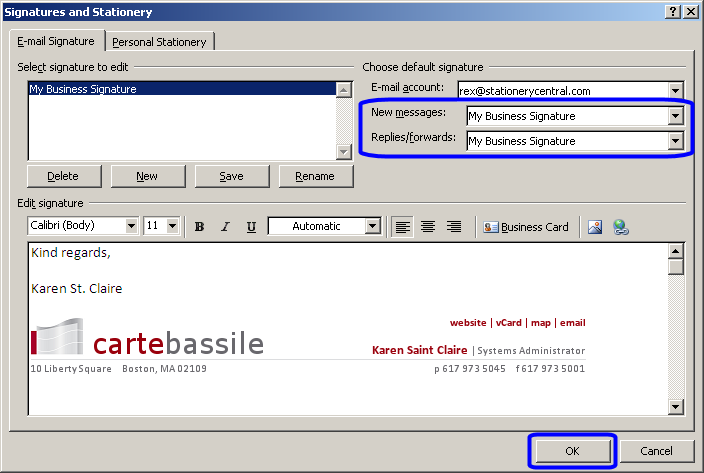 Outlook 2013 - Email Signature Installation & Use Instructions ...